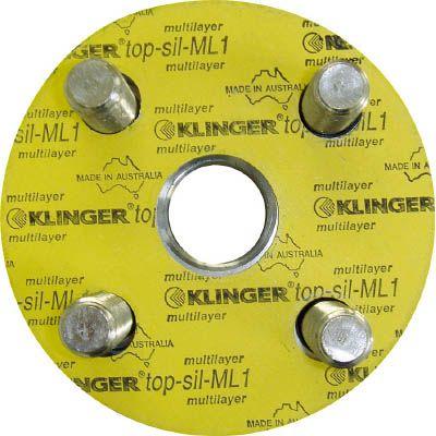 クリンガー社:クリンガー フランジパッキン(5枚入り) ML1-10K-50A ML1-10K-50A 型式:ML1-10K-50A(1セット:5枚入)
