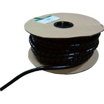 パンドウイットコーポレーション:パンドウイット スパイラルラッピング 耐候性ナイロン66 黒 T100N-C0 型式:T100N-C0