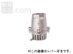 大阪継手バルブ製作所:オールステンレスフートバルブ レバーなし <32> 型式:32-80