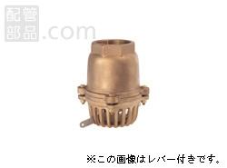 大阪継手バルブ製作所:オール砲金フートバルブ レバーなし <40> 型式:40-125