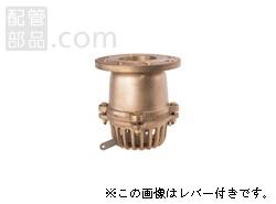 大阪継手バルブ製作所:オール砲金フートバルブ レバーなし <42> 型式:42-65