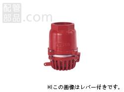 大阪継手バルブ製作所:オール鋳鉄製片開式フートバルブ レバーなし <7> 型式:7-100