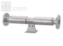 ベン:べローズ形伸縮管継手 型式:JB22-N-65