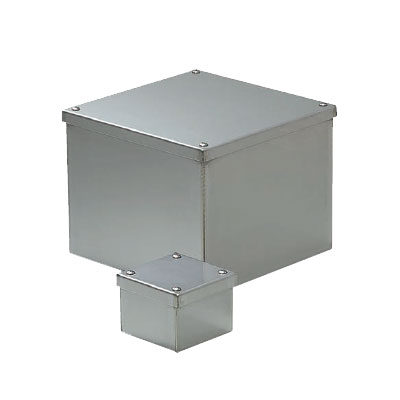 未来工業:ステンレスプールボックス(防水カブセ蓋) 型式:SUP-3030B