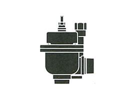 FMバルブ製作所:3型(アングルタイプ)・鉛レス銅合金ねじ込み型(FMバルブ) 型式:FM-3-30