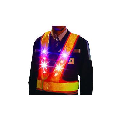 NEXCO西日本サービス関西:LED安全ベスト 型式:光るベスト(100着組)(1セット:100着入)