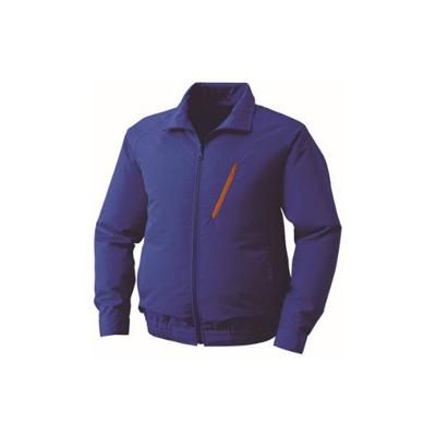 空調服:ポリエステル製空調服(ウェア・ファン2個・ケーブル・バッテリーセット) 型式:BP-500BN ブルーXL