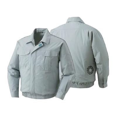 空調服:綿薄手ワーク空調服 BM-500U モスグリーン 型式:BM-500U モスグリーン2L