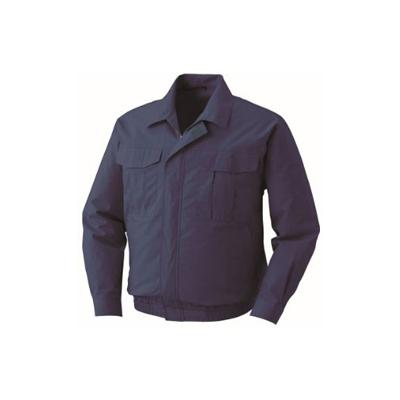 空調服:綿薄手ワーク空調服 BM-500U ダークブルー 型式:BM-500U ダークブルーL