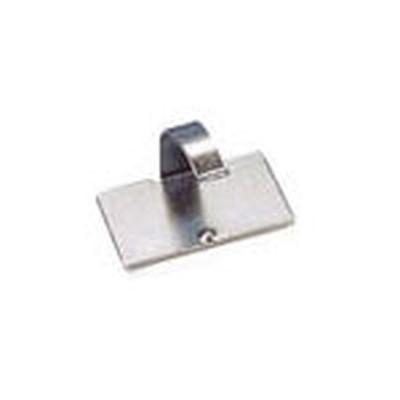 パンドウイットコーポレーション:パンドウイット 固定具 VHB粘着テープ付きメタルコードクリップ (100個入) MACC62-AV-C 型式:MACC62-AV-C(1セット:100個入)