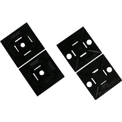 パンドウイットコーポレーション:パンドウイット マウントベース ゴム系粘着テープ付き 白 (1000個入) ABM1M-A-M 型式:ABM1M-A-M(1セット:1000個入)