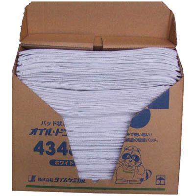 タイムケミカル:TC ホワイト オイルドライパッド(43cm×48cm×100枚) ホワイト 4348N 4348N 型式:4348N(1セット:100枚入), セレクトショップライズ:82b117c1 --- ww.thecollagist.com