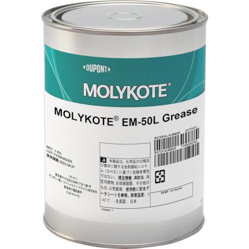 東レ・ダウコーニング:モリコート 樹脂・ゴム部品用 EM-50Lグリース 1kg EM-50L-10 型式:EM-50L-10