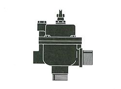 FMバルブ製作所:3L型(アングルタイプ)・鉛レス銅合金ねじ込み型 型式:FM-3L-40