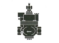 FMバルブ製作所:S-3N型(寒冷地仕様)・鉛レス銅合金ねじ込み型 型式:FM-S-3N-25
