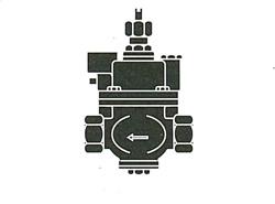 FMバルブ製作所:S-3型(ストレート)・鉛レス銅合金ねじ込み型 型式:FM-S-3-40