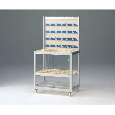 【正規品】 型式:4-147-11:配管部品 店 アズワン:ラコムドライハンガースタンド-DIY・工具