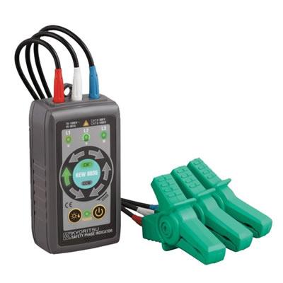 共立電気計器:非接触検相器 型式:KEW 8035