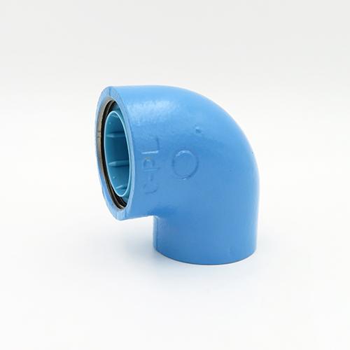 JFE継手:コア継手 径違いエルボ 型式:RL-4×3-Cコア