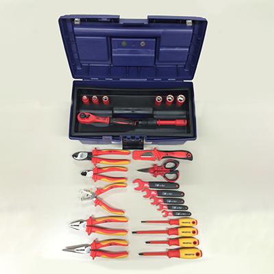 フローバル:絶縁工具Eセット(24点入り) 型式:PZSETE