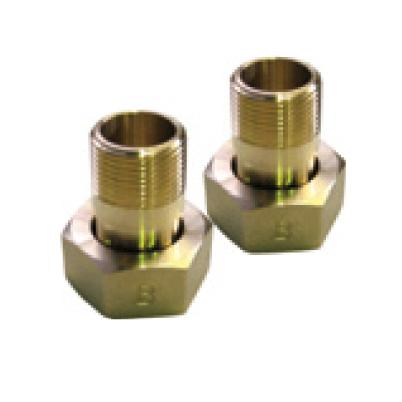 愛知時計電機:水道メーター用接続金具(ガス管用) 型式:ガス管用金具 50(1セット:2個入)