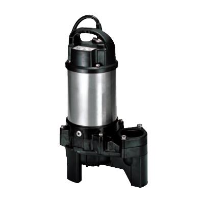 鶴見製作所:汚物用水中ハイスピンポンプ(バンクスシリーズ) 型式:50PU2.75 50Hz