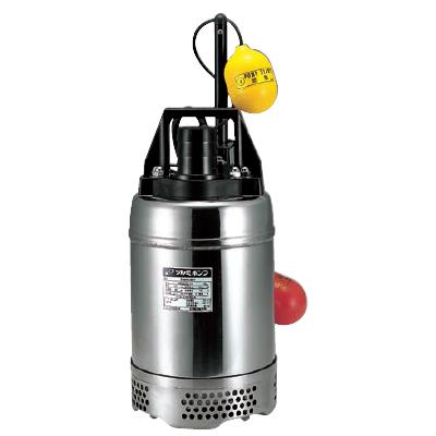 今季一番 鶴見製作所:耐食用ステンレス製水中ハイスピンポンプ 型式:50SQA2.4S:配管部品 店-DIY・工具