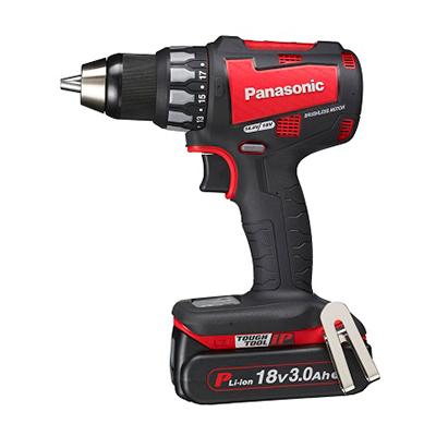パナソニック:充電ドリルドライバー18V3.0Ah 型式:EZ74A2PN2G-R