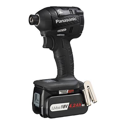 パナソニック:充電インパクトドライバー18V4.2Ah 型式:EZ75A7LS2G-B
