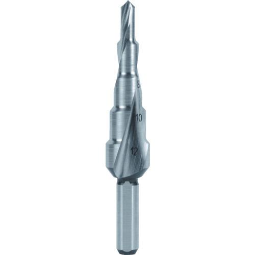 RUKO社:RUKO 2枚刃スパイラルステップドリル 39mm ハイス 101056 型式:101056