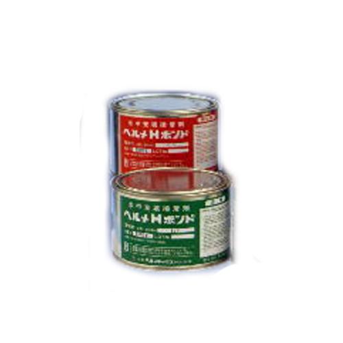 日本ヘルメチックス:2液性パテ状多湿面用充填接着剤ヘルメHボンド 型式:ヘルメHボンド-10kg
