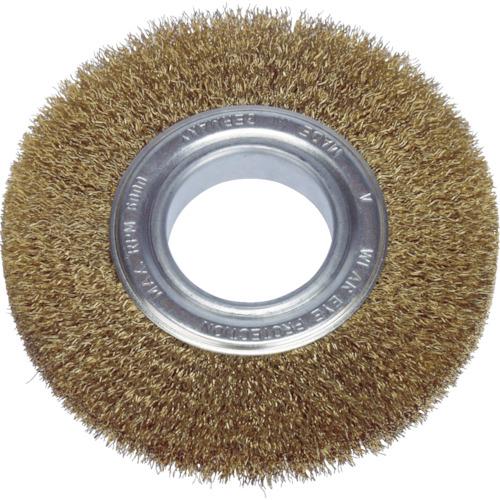 LESSMANN(レスマン):LESSMANN ホイルブラシ 200mm 0.2 真鍮線 366543 型式:366543