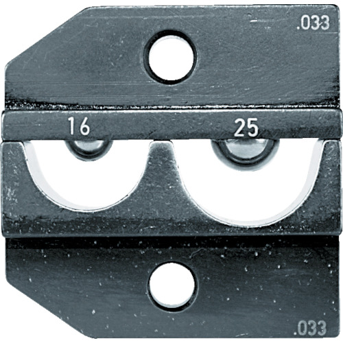 RENNSTEIG:RENNSTEIG 圧着ダイス 624-033 裸端子16-25 624-033-3-0 型式:624-033-3-0