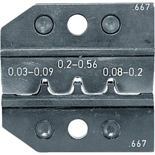 RENNSTEIG:RENNSTEIG 圧着ダイス 624-667 ピンコンタクト 0.03-0.2 624-667-3-0 型式:624-667-3-0