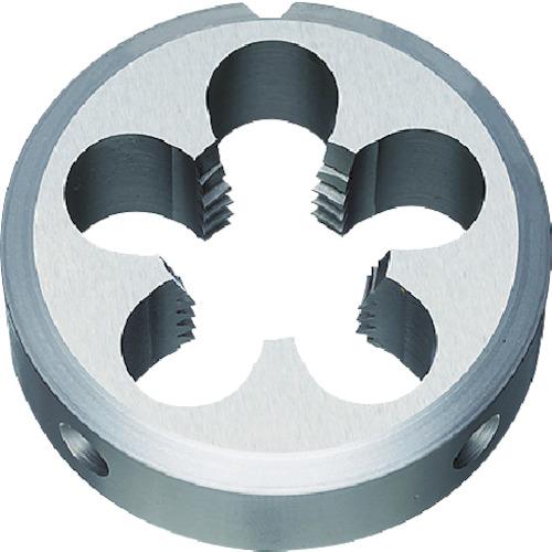 弥満和製作所:ヤマワ 汎用ソリッドダイス(HSS)メートルねじ用 左ねじ用 M8 D-LH-M8X1.25-38 型式:D-LH-M8X1.25-38