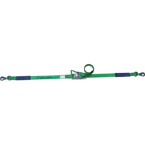 アンクラジャパン:allsafe ラッシングベルト ラチェット式回転スナップフック重荷重 R5SSH16 型式:R5SSH16
