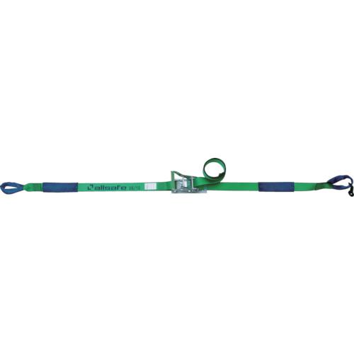 アンクラジャパン:allsafe ラッシングベルト ラチェット式65mmしぼり仕様超重荷重 R6I14 型式:R6I14