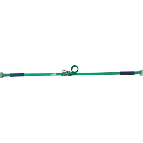 作業用品 [並行輸入品] 吊りクランプ セール 吊りベルト 荷締機 アンクラジャパン:allsafe ステンレス製ラチェット式T-ワンピース重荷重 ラッシングベルト 型式:SR5SP14 SR5SP14