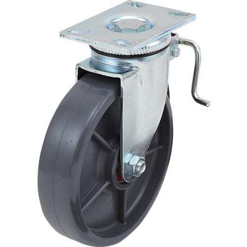 スガツネ工業:スガツネ工業 重量用キャスター径254自在ブレーキ付SE(200ー139ー456 SUG-8-810B-PSE 型式:SUG-8-810B-PSE