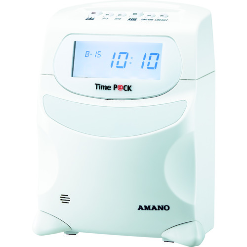 アマノ:アマノ 勤怠管理ソフト付タイムレコーダー TIMEPACK3-100 型式:TIMEPACK3-100