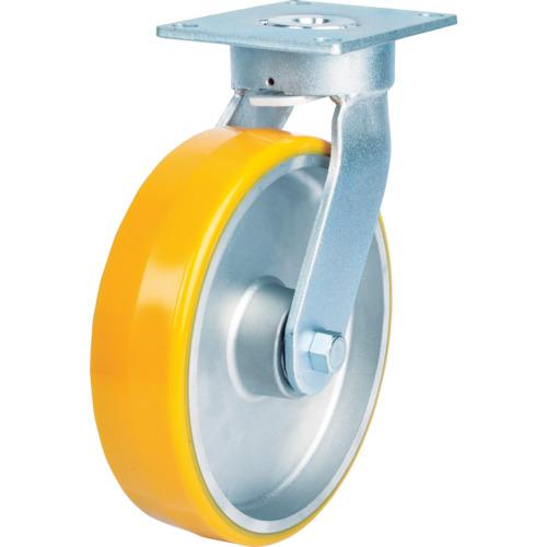 SAMSONG CASTER:SAMSONG 重荷重用 耐熱ウレタン車(メンテナンスフリー) 自在 125mm TP6657-PAL-PBB 型式:TP6657-PAL-PBB