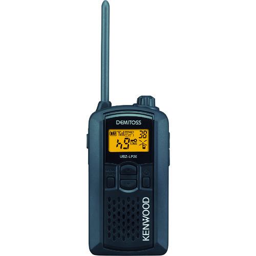 JVCケンウッド:ケンウッド 特定小電力トランシーバー(交互通話) UBZ-LP20B 型式:UBZ-LP20B