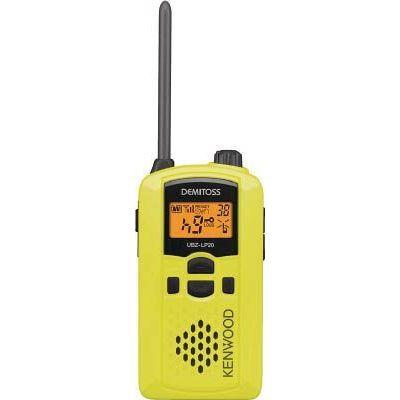 JVCケンウッド:ケンウッド 特定小電力トランシーバー(交互通話) UBZ-LP20Y 型式:UBZ-LP20Y