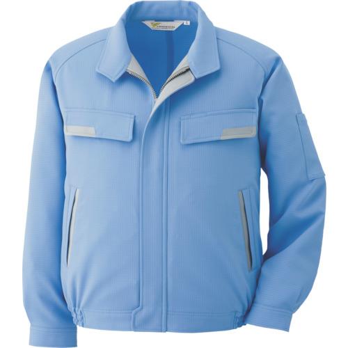 ミドリ安全:ミドリ安全 静電気帯電防止作業服 男女ペアブルゾン ブルー サイズLL VE73 UE LL 型式:VE73 UE LL