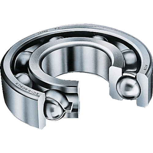 NTN:NTN H大形ベアリング(開放タイプ)内輪径90mm外輪径225mm幅54mm 6418 型式:6418