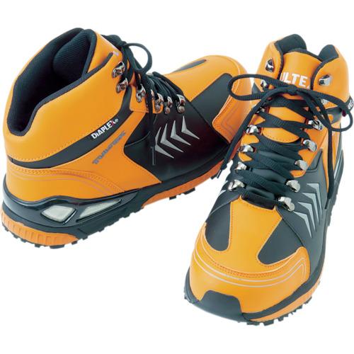 アイトス:アイトス 防水セーフティーシューズ (ミドルカット) オレンジ 25.5 AZ56380063-25.5 型式:AZ56380063-25.5