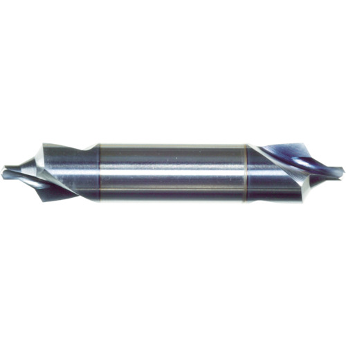 イワタツール:イワタツール B形ハイスセンタードリルコート付 錐径6.3 シャンク径20.0 BCD6.3X20TICN 型式:BCD6.3X20TICN