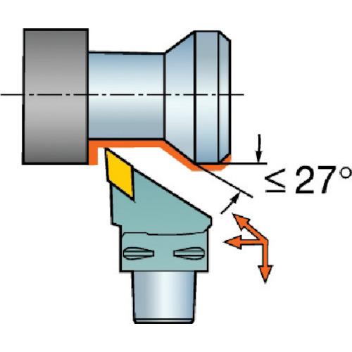サンドビック:サンドビック コロマントキャプト コロターンRC用カッティングヘッド C4-DDJNR-27055-1504 型式:C4-DDJNR-27055-1504