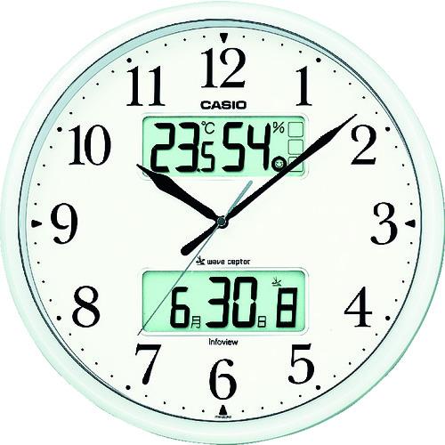 カシオ計算機:カシオ 電波掛け時計 ITM-660NJ-8JF 型式:ITM-660NJ-8JF