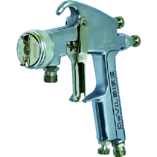 ランズバーグ・インダストリー:デビルビス 圧送式汎用スプレーガンLVMP仕様、幅広(ノズル口径1.0mm) JJ-K-307MT-1.0-P 型式:JJ-K-307MT-1.0-P